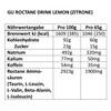 GU Energy Roctane Ultra Endurance Energy Drink Tüte Lemon Lime 65g